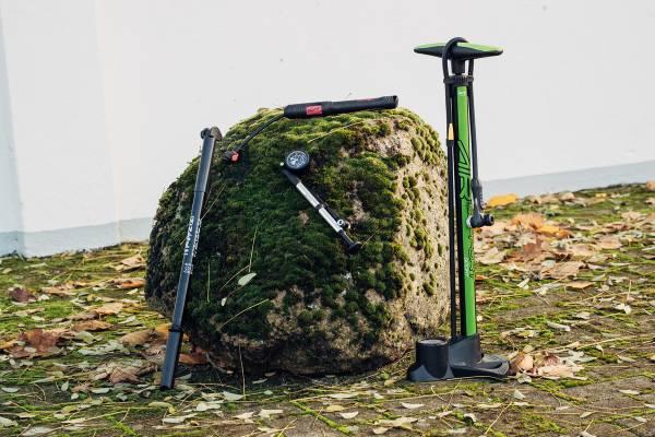 Fahrradpumpe-Startbild