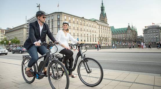 City-E-Bikes