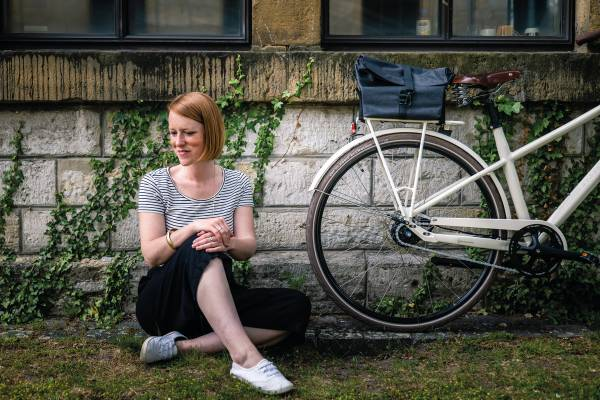 Urbane-Fahrradtasche