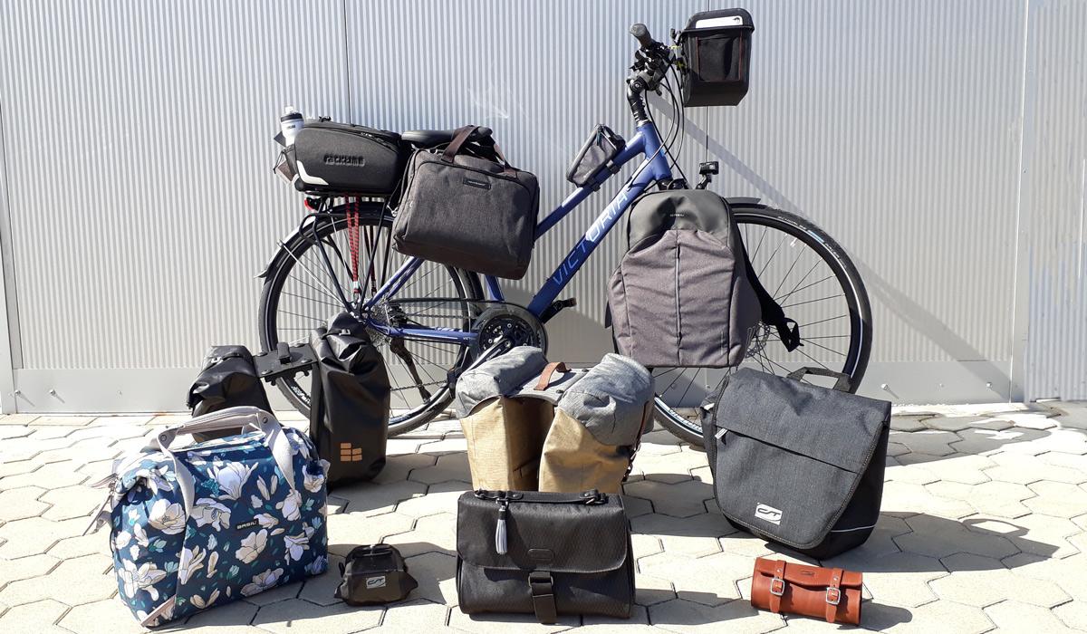 Basil Tour XL Fahrrad Doppeltasche Tasche Gepäckträgertasche 40 Ltr.