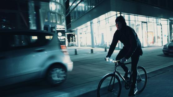 Fahrradlampe vorne Fahrrad Scheinwerfer StVZO LED Fahrradlicht und Reflektor