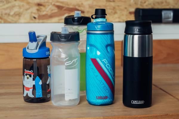 verschiedene-fahrrad-trinkflaschen