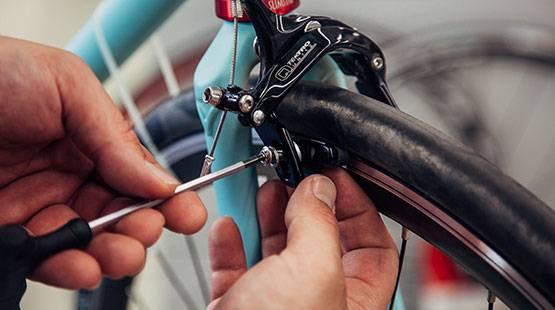 fahrradbremse-einstellen