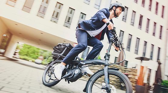 E-Bike-Pendler